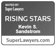 Kevin Sandstrom - Super Lawyers, Rising Star 2018