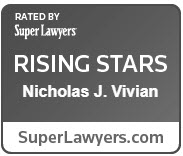 Nick Vivian - Super Lawyers, Rising Star 2018