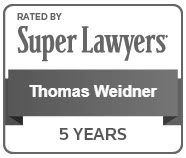 Tom Weidner - Super Lawyer 2018